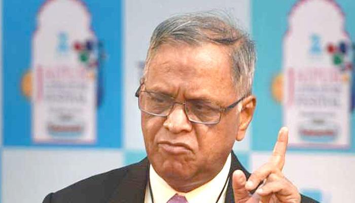 एच 1-बी वीजा पर नारायण मूर्ति ने कहा, सरकार से नहीं लड़ सकता कारोबार