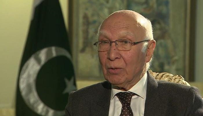 हिंद महासागर में शांति को लेकर चिंतित है पाकिस्तान: सरताज अजीज