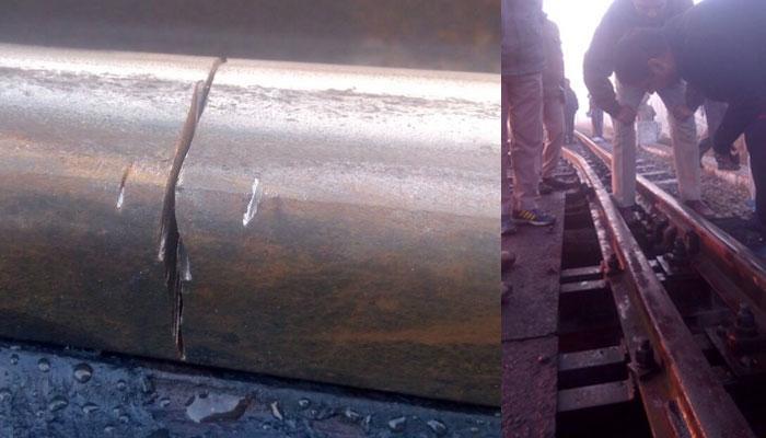 यूपी के संभल में काटी गयी रेल पटरी, गैंगमैन की सतर्कता से टला हादसा