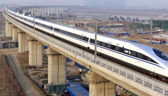 मुंबई-अहमदाबाद बुलेट ट्रेन परियोजना की प्रगति की समीक्षा नीति आयोग ने की