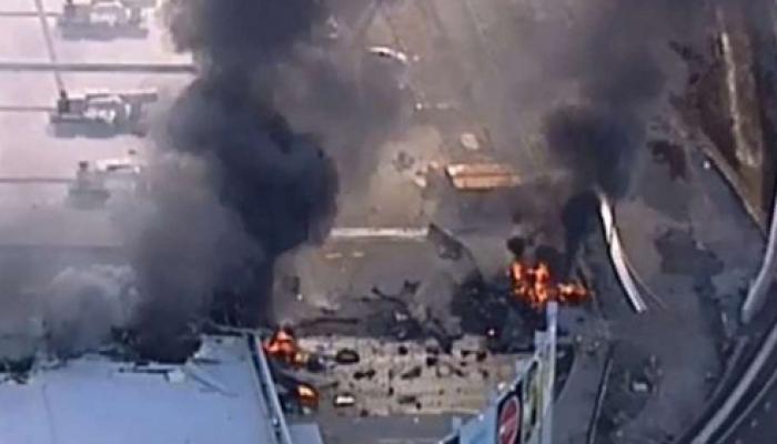 ऑस्ट्रेलिया: शॉपिंग सेंटर से टकराया विमान, 5 लोगों की मौत