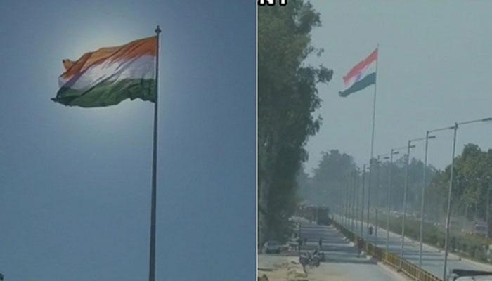 भारत ने अटारी बॉर्डर पर लहराया सबसे ऊंचा तिरंगा, 3.50 करोड़ रुपये का हुआ खर्च