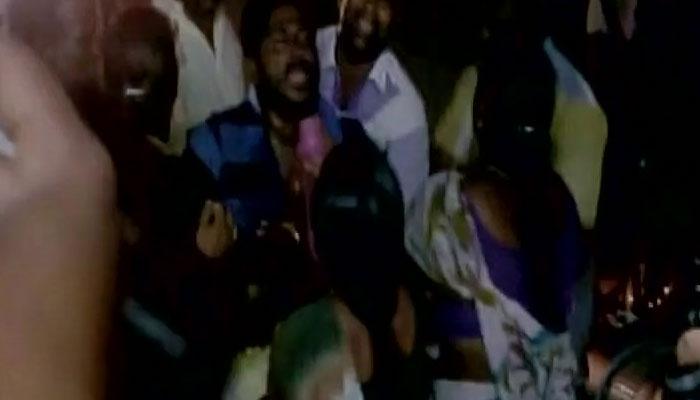 श्रीलंकाई नौसेना ने मछुआरे की गोली मार कर हत्या की, मछुआरों का प्रदर्शन