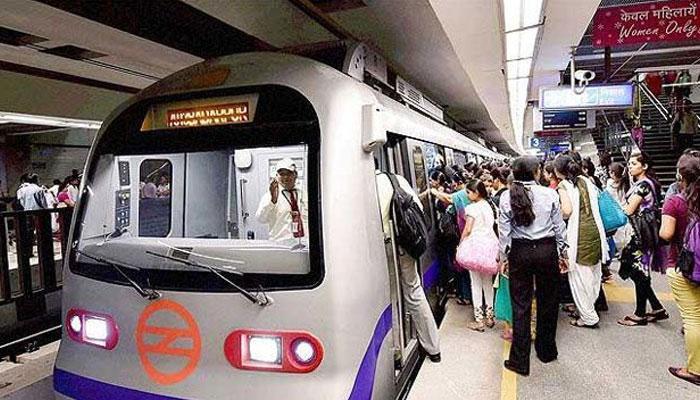 दिल्ली मेट्रो की चपेट में आने से 55 साल के व्यक्ति की मौत