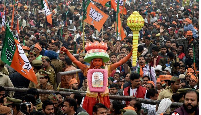 उत्तराखंड विधानसभा चुनाव परिणाम 2017 : भाजपा को प्रचंड बहुमत, कांग्रेस की करारी हार