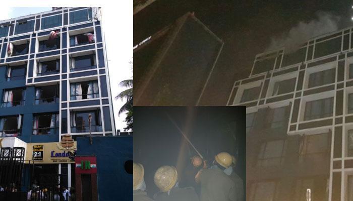 कोलकाता के होटल में आग, दो लोगों की मौत, 30 को बचाया गया