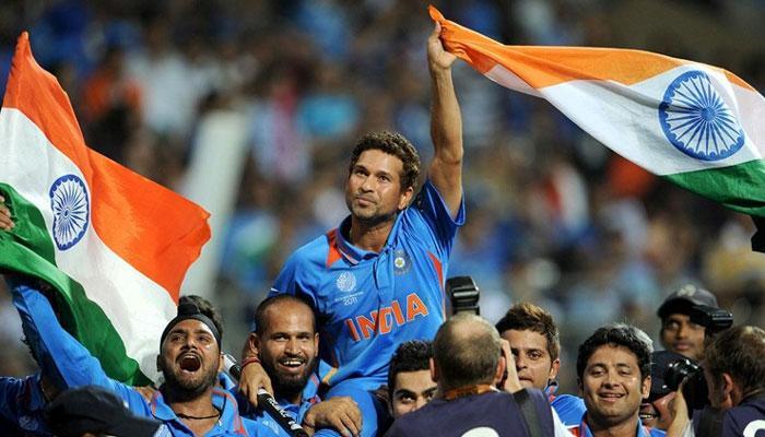 VIDEO : धोनी का शानदार 'छक्का' और 28 साल बाद भारत ने जीता वर्ल्ड कप