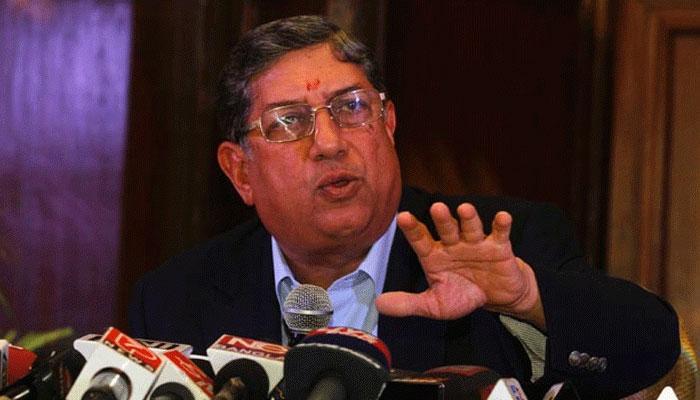 बीसीसीआई की 'एसजीएम' स्थगित, मीटिंग में पहुंचे श्रीनिवासन, सुप्रीम कोर्ट के फैसले का इंतजा़र