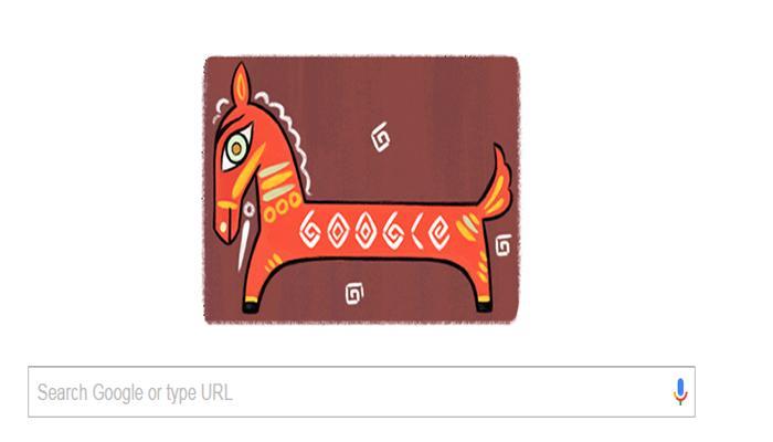 Google ने डूडल के जरिए दी भारत के महान चित्रकार जैमिनी राय को श्रद्धांजलि
