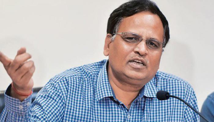 दिल्ली सरकार के मंत्री सत्येंद्र जैन के दफ्तर पर CBI का छापा