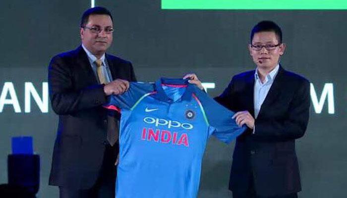भारतीय टीम को मिली नई जर्सी, ओपो-बीसीसीआई में ₹1079 करोड़ का करार