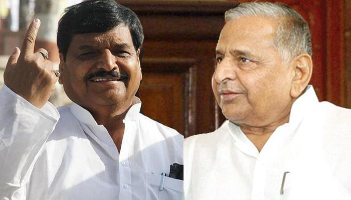सपा में दो-फाड़ : समाजवादी सेक्युलर मोर्चा नाम से नई पार्टी बनाएंगे शिवपाल, मुलायम होंगे अध्यक्ष
