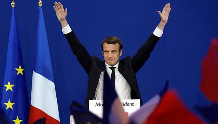 धुर दक्षिणपंथी मरीन ली पेन को मात देकर फ्रांस के नए राष्ट्रपति बने एमानुएल मैक्रोन