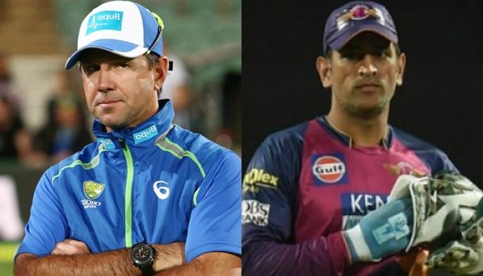 पोंटिंग की ऑल टाइम IPL इलेवन में धोनी कप्तान, डिविलिर्स-मैकुलम शामिल नहीं