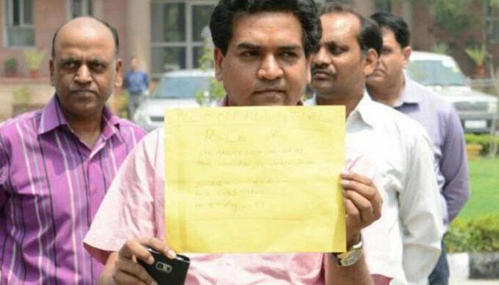 पानी टैंकर घोटाला: एसीबी ने कपिल मिश्रा से की पूछताछ