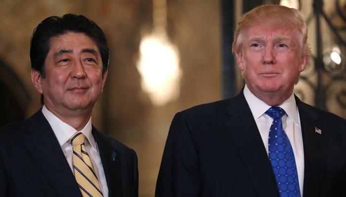 डोनाल्ड ट्रम्प ने जापान से कहा, उत्तर कोरिया समस्या का 'हल कर लिया जाएगा'