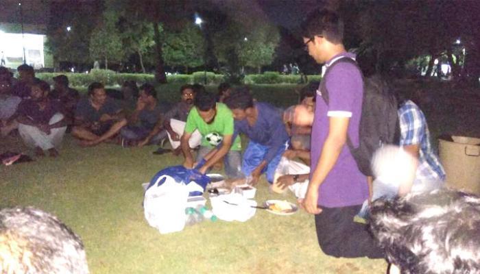 केंद्र के फैसले का विरोध करते हुए आईआईटी मद्रास में छात्रों ने की बीफ पार्टी