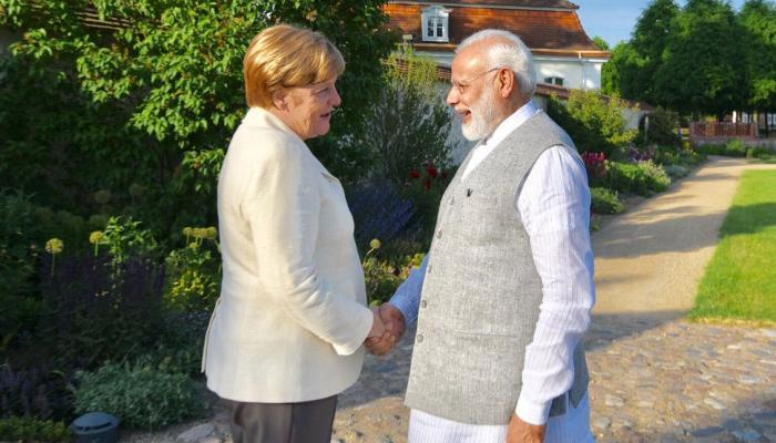 जर्मनी की चांसलर एंजेला मर्केल से मुलाकात पर बोले पीएम मोदी, 'अच्छी बातचीत हुई'