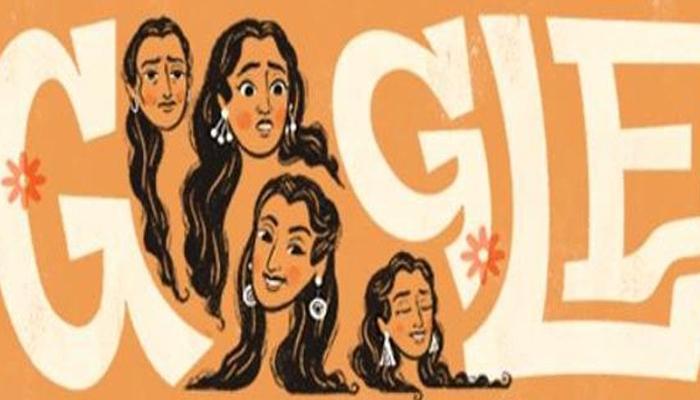 गूगल ने अदाकारा नूतन के जन्मदिन पर सजाया डूडल