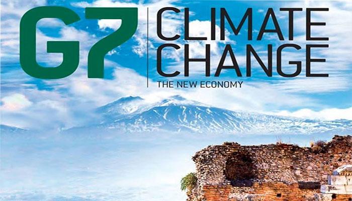 जलवायु परिवर्तन के मुद्दे पर मतभेद से जी-7 बैठक गरमायी