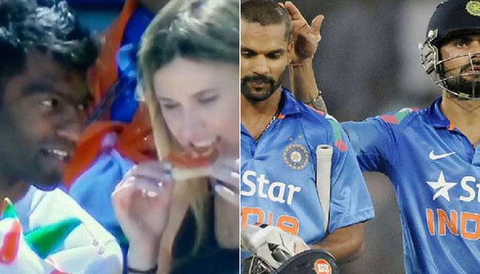 PICS IND vs SA : कोहली-धवन से भी ज्यादा फेमस हुआ ये शख्स, सोशल मीडिया ने कहा- 'मैन ऑफ द मैच'