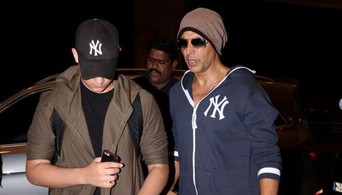 अभिनेता अक्षय कुमार ने साझा की बेटे आरव के साथ खूबसूरत तस्वीर!