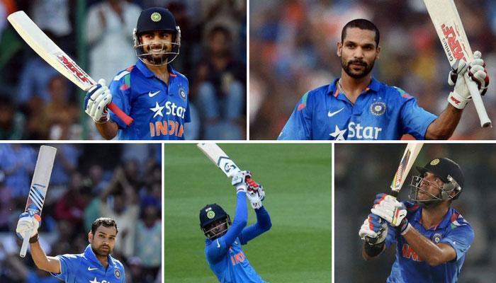 चैंपियंस ट्रॉफी 2017 : इन पांच भारतीय बल्लेबाजों के बल्ले से बरसे रन