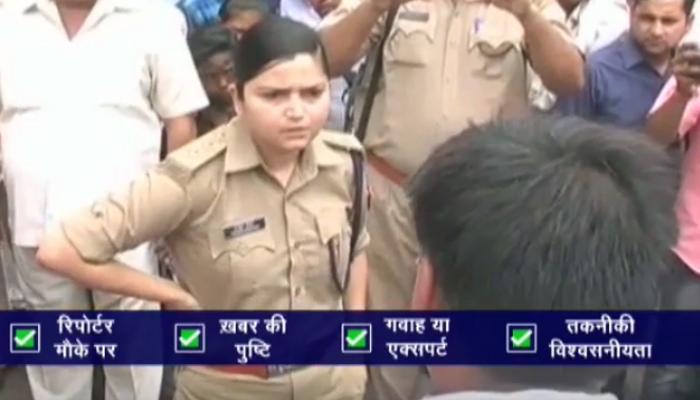 'लेडी सिंघम'के आगे नहीं चली बीजेपी नेताओं की 'नेतागिरी', होश ठिकाने लगाए