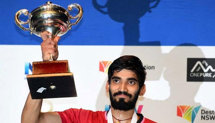 ऑस्ट्रेलियाई ओपन खिताब जीतने पर श्रीकांत को प्रधानमंत्री मोदी, तेंदुलकर ने दी बधाई