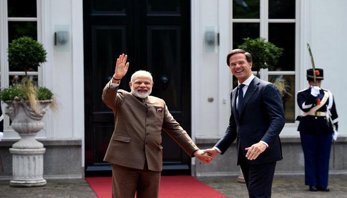 नीदरलैंड के पीएम ने हिंदी में TWEET करके किया मोदी का स्वागत