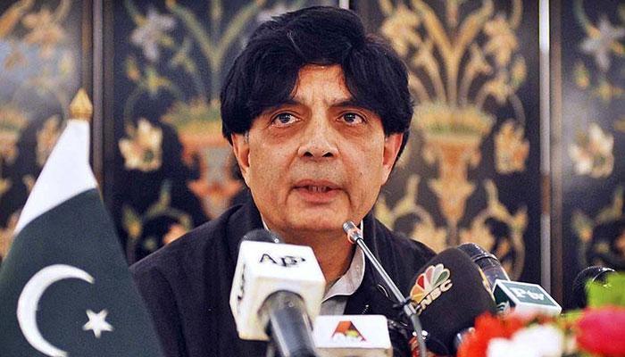 पाकिस्तानी मंत्री चौधरी निसार का आरोप, अमेरिका बोल रहा भारत की ज़ुबान