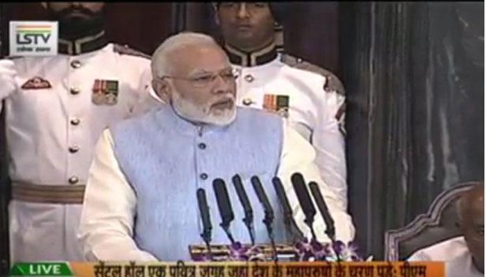 GST लागू : PM ने कहा यह देश का आर्थिक एकीकरण, भाषण की 5 बड़ी बातें