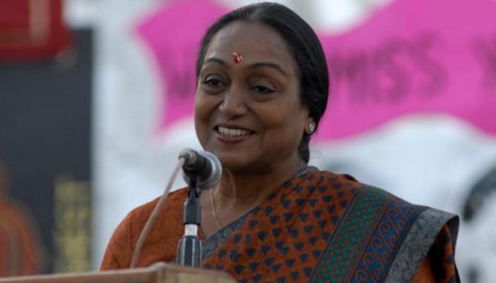राष्ट्रपति चुनाव पर मीरा कुमार ने कहा, मैं  'बलि का बकरा' नहीं मुकाबला करूंगी