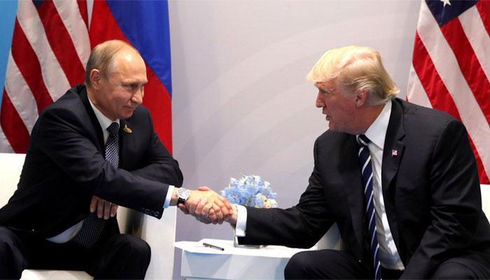 पुतिन के साथ मुलाकात के बाद बोले डोनाल्ड ट्रंप- 'बैठक शानदार रही'
