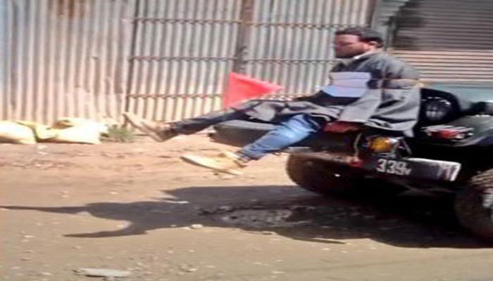 सेना की जीप से बांधे गए शख्स को 10 लाख रुपए दे J&K सरकार : मानवाधिकार आयोग