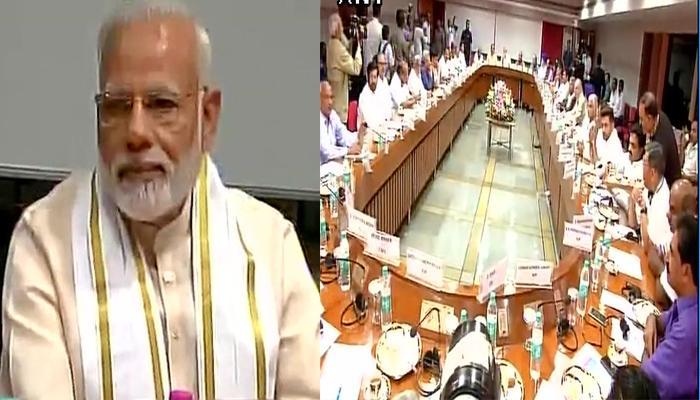 सर्वदलीय बैठक में पीएम मोदी का बयान, गौरक्षा के बहाने हिंसा बर्दाश्त नहीं करेंगे