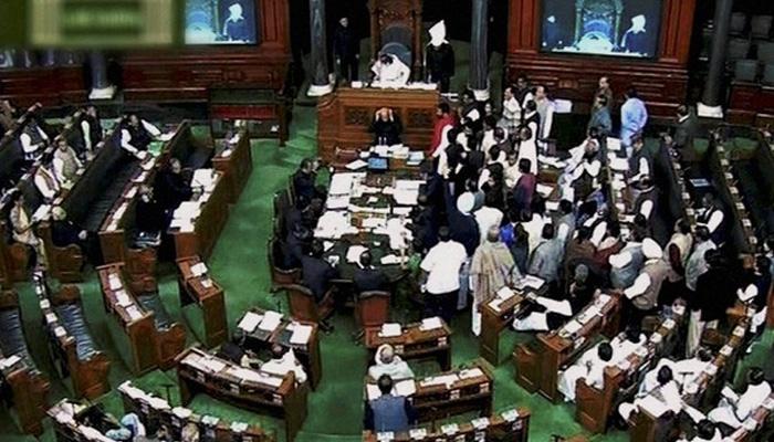 लोकसभा स्पीकर पर कागज उछालने वाले कांग्रेस के 6 सांसद सस्पेंड