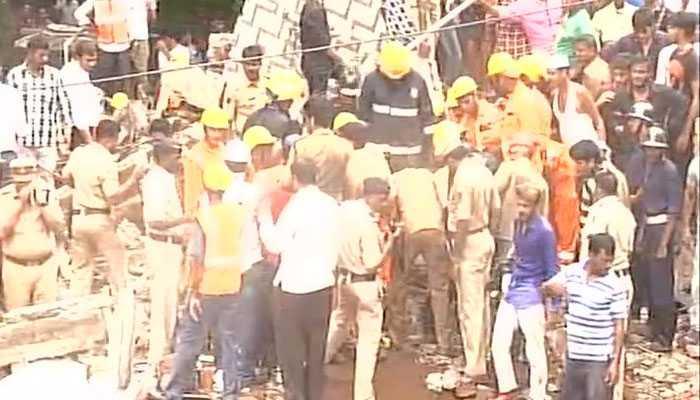 मुंबई में 4 मंजिला इमारत ढही, 13 की मौत, राहत और बचाव कार्य जारी
