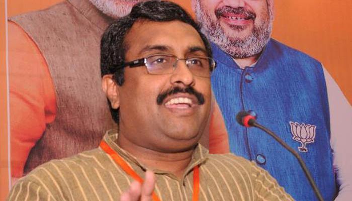 राज्यसभा चुनाव : रणनीति बनाने में जुटी बीजेपी, राम माधव के नाम पर चर्चा