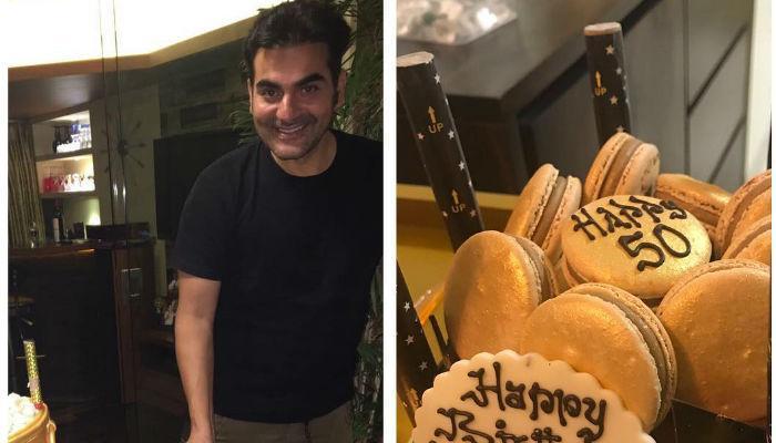 अपने जन्मदिन पर अरबाज ने काटा तरबूज का केक, मलाइका ने शेयर किया VIDEO