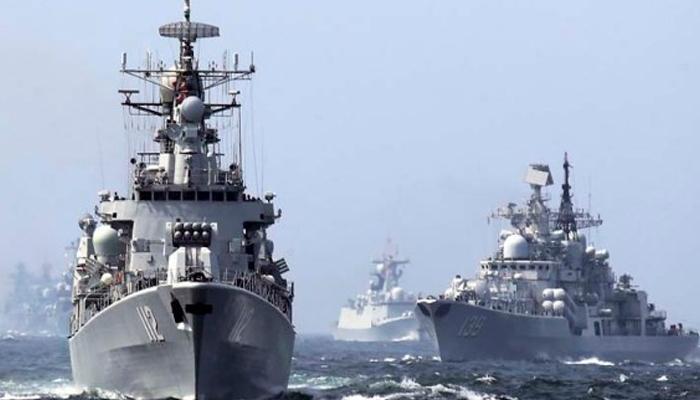 चीनी नौसेना के 'पीस आर्क' जहाज ने श्रीलंका में डाला डेरा