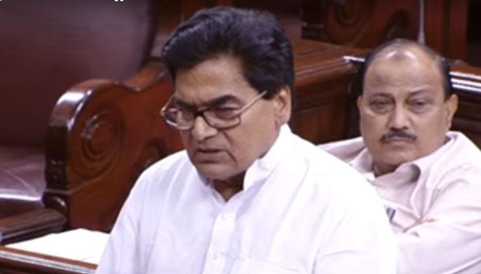 VIDEO, सीताराम येचुरी की संसद से विदाई पर भावुक हुए रामगोपाल यादव
