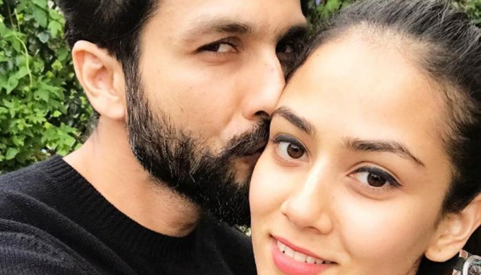 देखें, जब एक प्यारे मैसेज के साथ शाहिद ने शेयर की पत्नी मीरा के साथ PIC