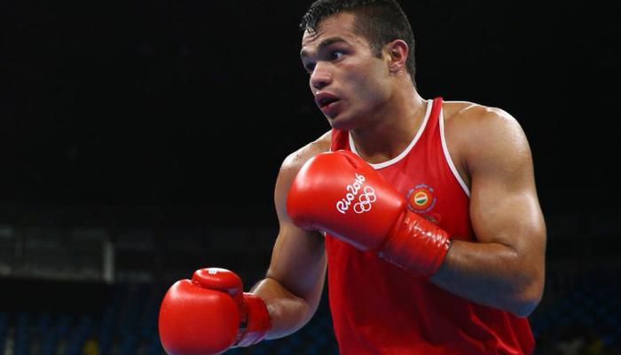 एशियाई चैंपियनशिप सेमी नहीं खेलने के मामले में बॉक्सर विकास को चेतावनी देकर छोड़ा