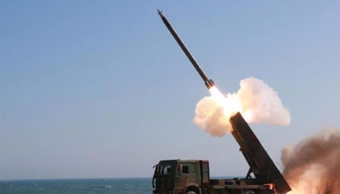 अमेरिकी सैन्याभ्यास के बीच उत्तर कोरिया ने दागी बैलिस्टिक मिसाइलें