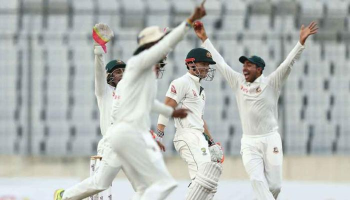 AUS vs BAN, 1st Test: पहले दिन बांग्लादेश के 260 रन, ऑस्ट्रेलिया ने 18 रन पर गंवाए 3 विकेट