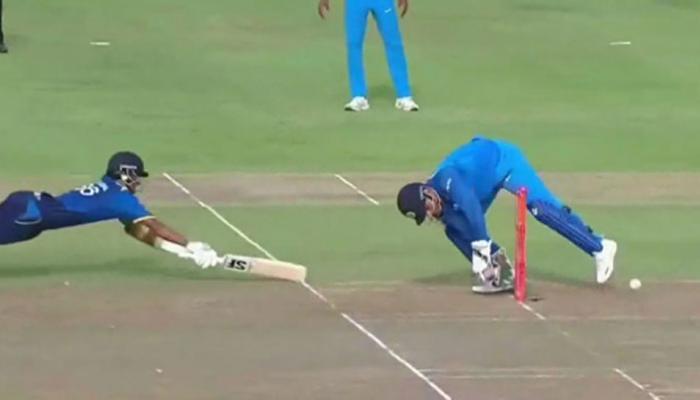 महेंद्र सिंह धोनी से भी होती है गलती, यकीन न हो तो देखें ये VIDEO