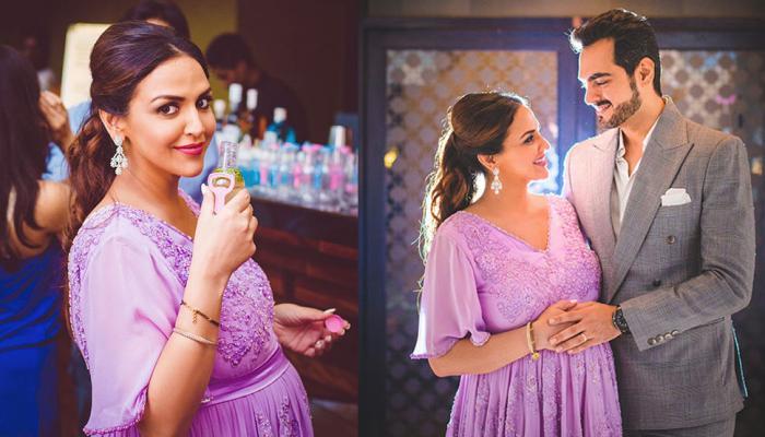 PICS: बहन अहाना ने दी सरप्राइज पार्टी, परपल गाउन में बेहद खूबसूरत दिखीं ईशा देओल