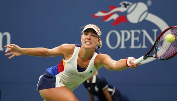 US Open: उलटफेर का शिकार हुईं एंजेलिक केर्बर, पहले ही राउंड से बाहर