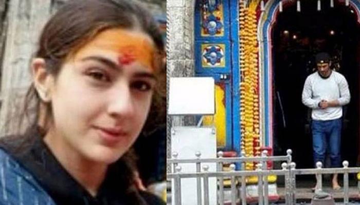 PICS: शूटिंग से पहले सारा और सुशांत ने किए 'केदारनाथ' के दर्शन